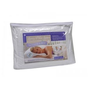 Подушка с защитной наволочкой Protect-a-bed
